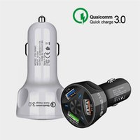 Kalite QC3.0 hızlı 3 USB Hızlı Cable + telefon şarj Şarj 3.1A Qualcomm Quick Charge araç şarj cihazı şarj