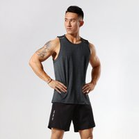 Bodybuilding Fitness Tank Tops GYM Men Sleeveless Jogging Fitness Running Vest New Arrive Summer Workout Casual Singlet