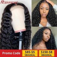 Pelucas de encaje Diadema Peluca Curly Human Hair For Women Super Easy Half Brasil Remy Looks Real Natural