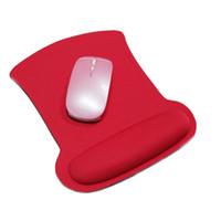 Thicken esponja macia descanso de pulso Mouse Pad Para Optical / trackball Mat Mice Pad Computer Comfy durável mouse pad