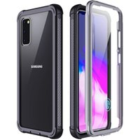 360 Full Body Clear Shockproof TPU PC Case With Screen Protector For iPhone 12 11 Pro Max XR 8 7 Samsung S8 S9 S10 S20 Plus Note 10 20 Ultra
