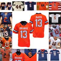 Benutzerdefinierte Syracuse orange Football Jersey NCAA Donovan McNabb 44 DeVito Moe Neal Jackson Berry Josh Schwarz Taj Harris Adams Sean Riley