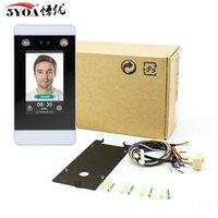 Sistema de reconhecimento facial Controle de Acesso Rosto Dinâmico WiFi TCP IP Dispositivo de IP 4,3 polegadas Cartão de Touch Scing Cartão HD Camera Presença