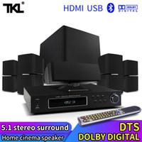 Altavoces de combinación TKL Professional Audio 5.1 Sistema de cine en casa Bluetooth 3D Redround sonido Equipo de teatro