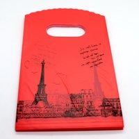 200pcs bolsas de plástico bolsas de caramelo de la boda joyería del regalo de cumpleaños bolsa de embalaje de 15X9cm