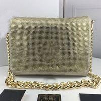 حقائب الكتف سلسلة حقيبة يد نسائية محافظ محفظة احدث اسلوب أزياء ذات جودة عالية جلد طبيعي Nubuck جلد الساخن الحفر رئيس بالكاتب