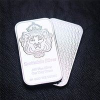 Sample Order 1 Oz Scottsdale Silver Bar. Messing Geplated Silver Bar Silver Bullion Non Magnetic