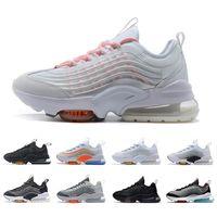 2020 Yastık ZM950 Mens Üçlü Siyah Gümüş Beyaz Gökkuşağı Oreo neon 950s Kadınlar erkekler Spor Eğitmenler Sneakers CHAUSSURES Koşu Ayakkabıları