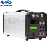 UPP 750 W Taşınabilir Güç İstasyonu 610 WN Güneş Jeneratör Yedekleme Kaynağı AC / DC / USB / Tip-C Çoklu Çıkış UPS Acil Pil