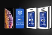 10D خفف من الزجاج للحصول على اي 12 11 برو ماكس XR الغلاف XS كاملة الحافة حامي الشاشة لسامسونج A90 A80 A70 A70s 10 في 1 مع حزمة البيع بالتجزئة