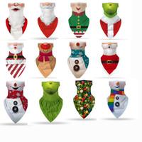 Máscaras de impresión en 3D del partido de Halloween máscara de la máscara del fiesta de Halloween de la cara del escudo del cráneo de múltiples funciones de la bufanda mágica turbante Montar Cinta de cabeza Pañuelos cara