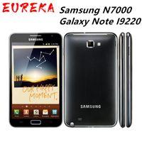 N7000 Оригинал Samsung N7000 Galaxy Note I9220 8MP 1 ГБ ОЗУ + 16 ГБ ROM 3G WCDMA 2500MAH отремонтированный разблокированный мобильный телефон