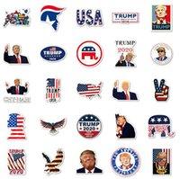لوازم 50 PCS ترامب 2020 ملصقات الرئيس الامريكي لسكيت محمول الثلاجة خوذة دراجة دراجة نارية الوسادة الدفتري أخرى الاحتفالية IIA536