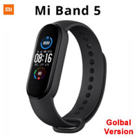 "BE stock HT-original Xiaomi Mi Band 5 Bracelet intelligent 1.1"" AMOLED écran Bluetooth 5.0 Miband5 étanche intelligent Wristband 50pcs"
