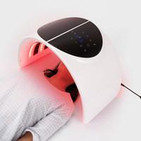 جديد 7 لون PDT قناع الوجه مصباح آلة مصباح الفوتون العلاج الصمام ضوء الجلد تجديد مجعد المعدات العناية بالبشرة