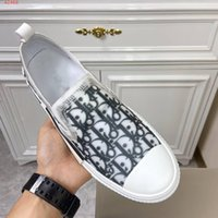 2020SS B23 Oblique Slip-on Low Top Sneakers uomini obliqui Fiori tecnici esterni dei pattini casuali B23 SLIP-ON Sneaker moda maschile 38-45