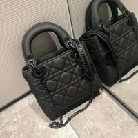 2020 designer bolsas de luxo bolsas mulheres bolsa de ombro couro genuíno com houndstooth tecido crossbodybag sela bolsa de alta qualidade saco