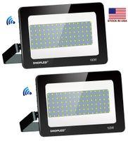 250 W 200 W 100 W LED Projektörler Su Geçirmez Açık LED Gölgelik Işıkları Benzin İstasyonu Aydınlatma LED Taşkın Işıkları AC 85-265 V + ABD Stoklar