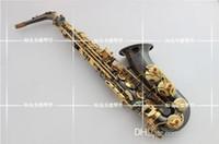 высококачественный Саксофон альт инструмент Япония Янагисав A-991 нового E Саксофон альт падение инструмента / ветер / трубка черного никель золото Sax