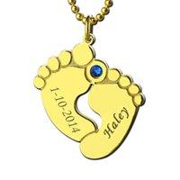 الجملة اسم تاريخ أقدام الطفل الأم قلادة الذهب اللون المولد البصمة سحر الاحتفال على المولود الجديد