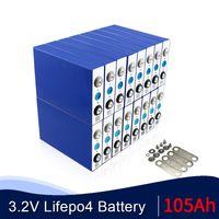 A neue 16PCS 3.2V 105Ah LiFePO4 Batterie CELL 12V 24V 36V 48V 100AH für EV RV packen DIY Solar EU US TAX FREE