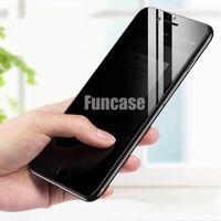 Privacidade vidro temperado Privada protetor de tela Proof Film Guarda premium iPhone Para 12 Mini 11 Pro Max XS XR X 8 7 6 6S Além disso SE 2020