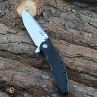 Sıcak Sıfır Tolerans ZT 0562TS Survival bıçak 0562 Düz Bıçak Titanyum alaşımlı Kol EDC Yardımcı araçlar