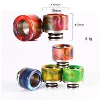 510 Drip Tips Tip Stainless + Resin Epoxy Mouthpiece Wire Bore Suck for TFV12 Prince TFV8 X Big Baby Crown Atomizer