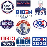 Presidente Joe Biden l'autoadesivo dell'automobile 2020 US Elezioni presidenziali Candidato Designer auto Adesivi per Accessori 10pcs / lot = 10design D9101