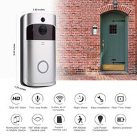 Smart IP WiFi WiFi Video Video Interfono Camera Wi-Fi Porta del telefono Campanello per Appartamenti IR Allarme Telecamera di sicurezza con rilevatore di movimento