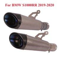 Slip-on S1000RR en alliage de titane silencieux d'échappement Conseil Tuyau pour S1000RR 2020 2020 Silencieux Pot d'échappement Tuyau Tube