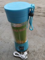 1300MA Saftmaschine Cup Tragbare Mini-USB aufladbare Juice Mixer und Mixer 2 4 6 Blatt Kunststoff-Saft zu machen Cup LJJK2335-1