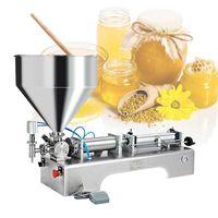 Commercial paste filling machine multifunctional single head paste filling machine 220V 110V liquid paste filling machine