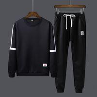 Männer Tracksuits Frühling 2020 beiläufige Mens-Set Outwear Sweatshirts Sweartpants Zweiteiler Male Breath Sweat Anzüge Man Mode