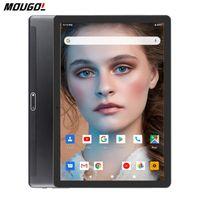 Tablet PC Küresel Dil Sürümü Temperli 2.5D 10 Inç 3G Android 9.0 Dört Çekirdekli 32 GB ROM WiFi GPS 10.1 IPS Hediyeler + 64 GB TF Kart