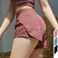 Designer L-01 Yoga courtes Pantalons femmes Course à Pied Shorts Femme Yoga Casual Tenues adulte sport filles exercice Fitness Porter