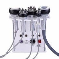 2020 Sıcak Ürün 5 1 Vakum Lazer Radyo Frekansı RF 40K Cavi Lipo Zayıflama Ultrasonik Liposuction kavitasyon Makinası İçin Spa