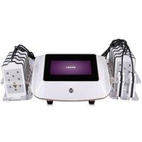 Taşınabilir Lipo Lazer Lipoliz Diyot Vücut Şekillendirici Lipolaser Zayıflama Güzellik Makinesi 14 Pedler Vücut Şekillendirici Spa Sistemi