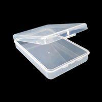 113 * 91 * 27 ملليمتر قناع الوجه مربع حاوية مربع حالة بطاقة الحاويات صندوق بطاقة الذاكرة أداة تخزين البلاستيك تخزين شفافة سهلة