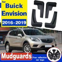 Set Moulé voiture boue pour Buick Envision Rabats 2016 2017 2018 2019 Bavettes garde-boue BOUE Garde-boue Accessoires