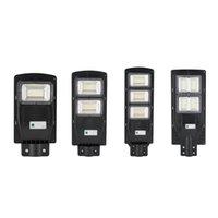 Alta Qualidade Solar Poste Projector Spotlight 60W 120W 180W 240W impermeável ao ar livre Solar Flood Spot Light Lâmpadas