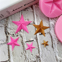 2Sizes - grade Star Cake Silicone Mold Chocolate Decorate Kit...