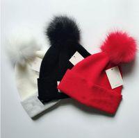 Горячий мужской бренд вышивка весна зима роскошь дизайнер хип-хоп Повседневный шерсти крышки на открытом воздухе мужчин вязаная шапка мужчины на улице тепло Шапочки женщин крышка