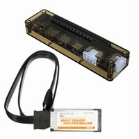 Computer Cavi Connettori Connettori Scheda Express Mini PCI-E Versione ExpressCard V8.0 EXP GDC Beast PCIe PCI Laptop esterni esterni Video Dock