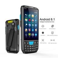 스캐너 Android 8.1 PDA 바코드 스캐너 1D 2D QR 코드 RFID 리더 IP66 WiFi 4G 4.5 '화면 키보드 NFC 데이터 터미널