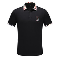 Brand Top Stylist Men's Polo Shirts High quality Luxury Tees Embroidery Cotton Print Mens Clothing Brand Polo Shir