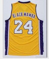 Özel Erkekler Gençlik Kolej basketbol Jersey Boyut S-6XL b kadınlar k dışarı Vintage mamba veya özel herhangi bir ad veya numara forması