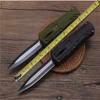 자동 하이킹 전면 나이프 전술 전투 캠핑 유틸리티 OUT 새로운 호샤 더블 전면 포켓 나이프를 칼