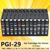 Чернильные картриджи 12PK PGI29 PGI-29 картридж целый набор для Canon Pixma Pro-1 Pearper Pigrment полный с чипом