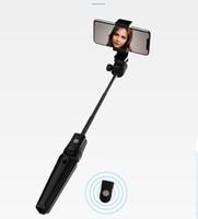 아이폰 OS 휴대 전화 100PCS를위한 안드로이드에 대한 원격 제어 ABS + 알루미늄 합금 최대 1M 3 피트와 K20 블루투스 셀카 스틱 삼각대 스탠드 / 많은